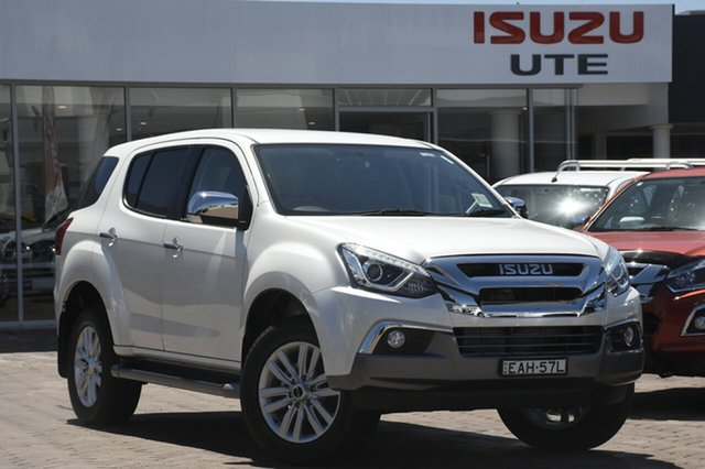 Discounted Demonstrator, Demo, Near New Isuzu MU-X LS-U Rev-Tronic 4x2, Warwick Farm, 2018 Isuzu MU-X LS-U Rev-Tronic 4x2 Wagon