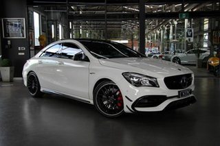 2017 Mercedes-Benz CLA45 AMG SPEEDSHIFT DCT 4MATIC Coupe.