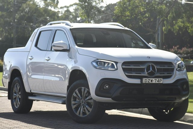 Discounted Demonstrator, Demo, Near New Mercedes-Benz X-Class X350d 7G-Tronic + 4MATIC Progressive, Southport, 2018 Mercedes-Benz X-Class X350d 7G-Tronic + 4MATIC Progressive Utility