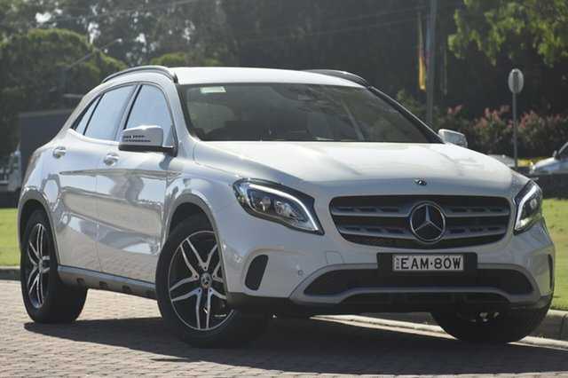 Discounted Used Mercedes-Benz GLA180 DCT, Narellan, 2017 Mercedes-Benz GLA180 DCT SUV
