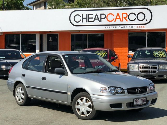 Used Toyota Corolla Ascent Seca, Greenslopes, 2000 Toyota Corolla Ascent Seca Liftback