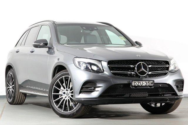 Demonstrator, Demo, Near New Mercedes-Benz GLC250 d 9G-TRONIC 4MATIC, Narellan, 2018 Mercedes-Benz GLC250 d 9G-TRONIC 4MATIC SUV