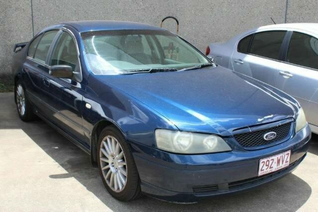 Used Ford Falcon XT, Underwood, 2002 Ford Falcon XT Sedan