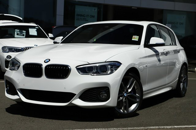 Demonstrator, Demo, Near New BMW 125i M Sport, Brookvale, 2018 BMW 125i M Sport Hatchback