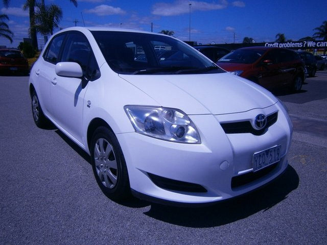 Used Toyota Corolla Ascent, Cheltenham, 2009 Toyota Corolla Ascent Hatchback