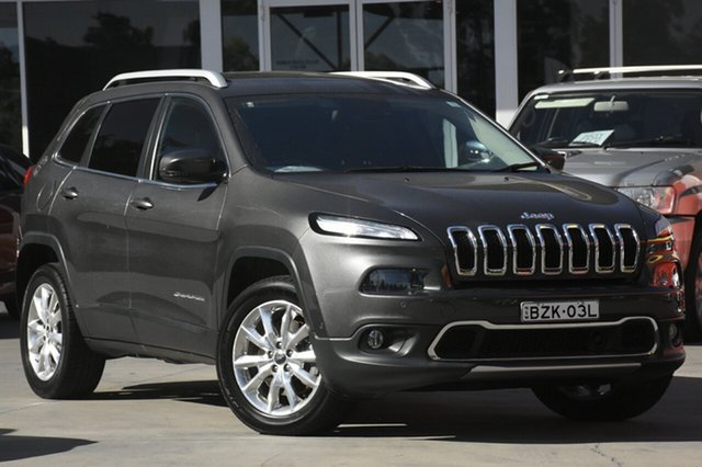 Used Jeep Cherokee Limited, Narellan, 2014 Jeep Cherokee Limited SUV