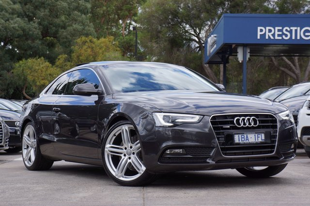 Used Audi A5 S Tronic Quattro, Balwyn, 2013 Audi A5 S Tronic Quattro Coupe