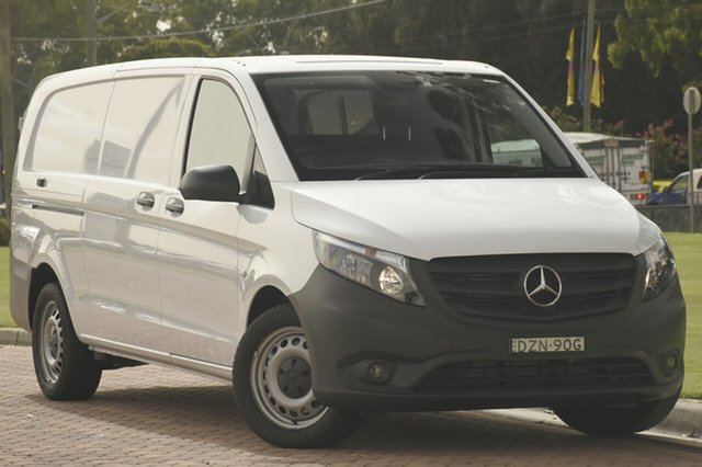 Discounted Demonstrator, Demo, Near New Mercedes-Benz Vito 116BlueTEC LWB 7G-Tronic +, Narellan, 2018 Mercedes-Benz Vito 116BlueTEC LWB 7G-Tronic + Van