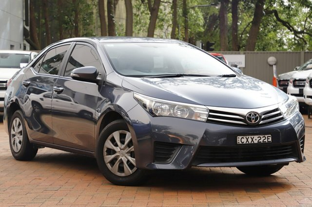 Used Toyota Corolla Ascent S-CVT, Warwick Farm, 2014 Toyota Corolla Ascent S-CVT Sedan