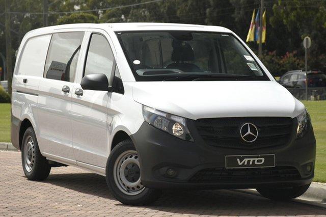 Discounted New Mercedes-Benz Vito 114BlueTEC Crew Cab LWB 7G-TRONIC +, Warwick Farm, 2018 Mercedes-Benz Vito 114BlueTEC Crew Cab LWB 7G-TRONIC + Van