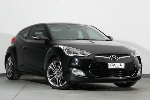 Used Hyundai Veloster Coupe D-CT, Campbelltown, 2017 Hyundai Veloster Coupe D-CT Hatchback