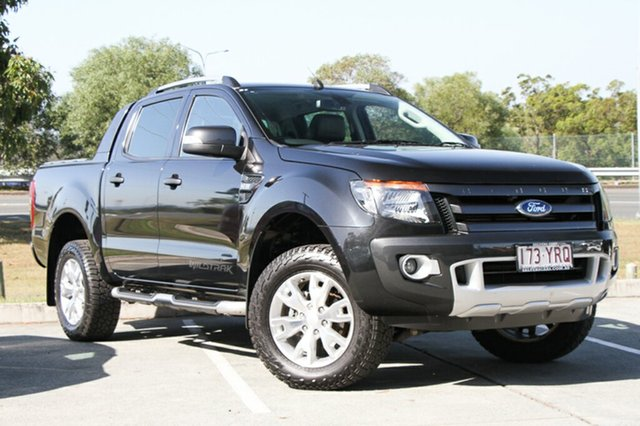 Used Ford Ranger Wildtrak Double Cab, Indooroopilly, 2014 Ford Ranger Wildtrak Double Cab Utility