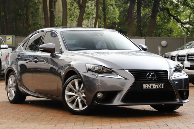 Used Lexus IS300H Luxury, Warwick Farm, 2013 Lexus IS300H Luxury Sedan