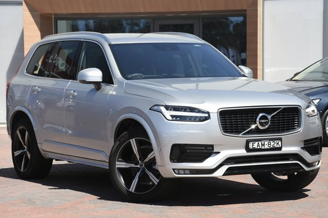 Discounted Demonstrator, Demo, Near New Volvo XC90 D5 Geartronic AWD R-Design, Narellan, 2018 Volvo XC90 D5 Geartronic AWD R-Design SUV