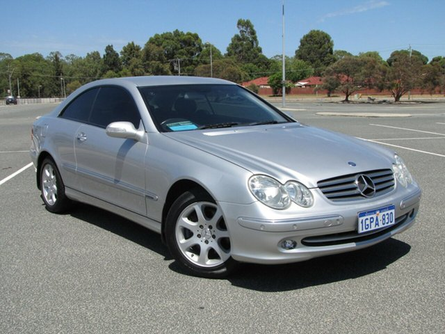 Used Mercedes-Benz CLK240 Elegance, Maddington, 2004 Mercedes-Benz CLK240 Elegance Coupe