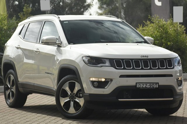 Discounted Demonstrator, Demo, Near New Jeep Compass Limited, Warwick Farm, 2018 Jeep Compass Limited SUV