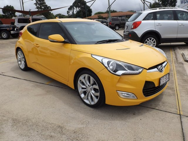 Discounted Used Hyundai Veloster Coupe, Toowoomba, 2011 Hyundai Veloster Coupe Hatchback
