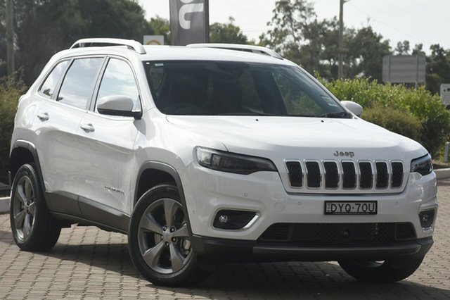 Discounted Demonstrator, Demo, Near New Jeep Cherokee Limited, Warwick Farm, 2018 Jeep Cherokee Limited SUV