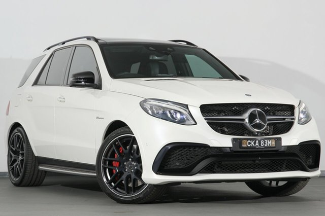 Used Mercedes-Benz GLE63 AMG SPEEDSHIFT PLUS 4MATIC S, Campbelltown, 2015 Mercedes-Benz GLE63 AMG SPEEDSHIFT PLUS 4MATIC S SUV