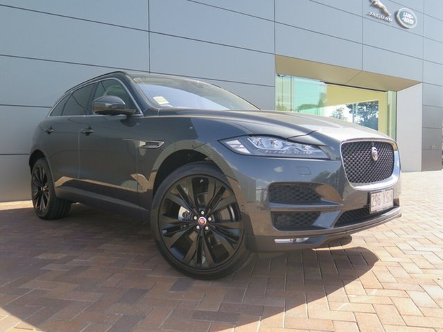 Demonstrator, Demo, Near New Jaguar F-PACE 30d AWD Portfolio, Toowoomba, 2017 Jaguar F-PACE 30d AWD Portfolio Wagon