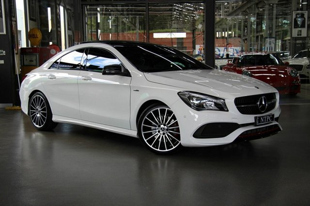 Used Mercedes-Benz CLA250 Sport DCT 4MATIC, North Melbourne, 2018 Mercedes-Benz CLA250 Sport DCT 4MATIC Coupe
