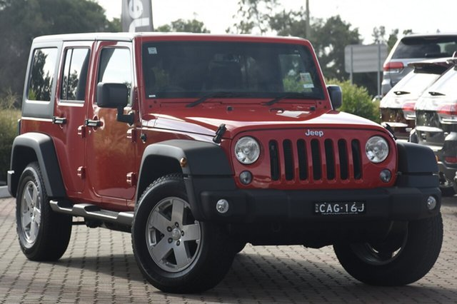 Discounted Demonstrator, Demo, Near New Jeep Wrangler Unlimited Sport, Warwick Farm, 2018 Jeep Wrangler Unlimited Sport SUV