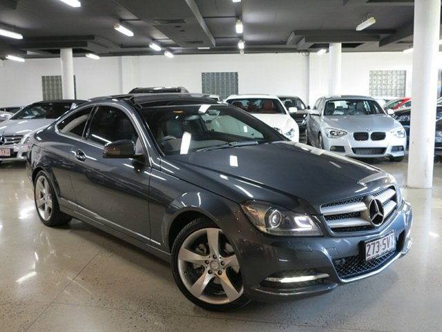 Used Mercedes-Benz C250 CDI BlueEFFICIENCY 7G-Tronic, Albion, 2012 Mercedes-Benz C250 CDI BlueEFFICIENCY 7G-Tronic Coupe