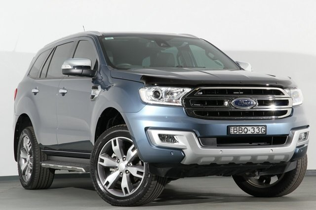 Discounted Used Ford Everest Titanium, Campbelltown, 2017 Ford Everest Titanium SUV