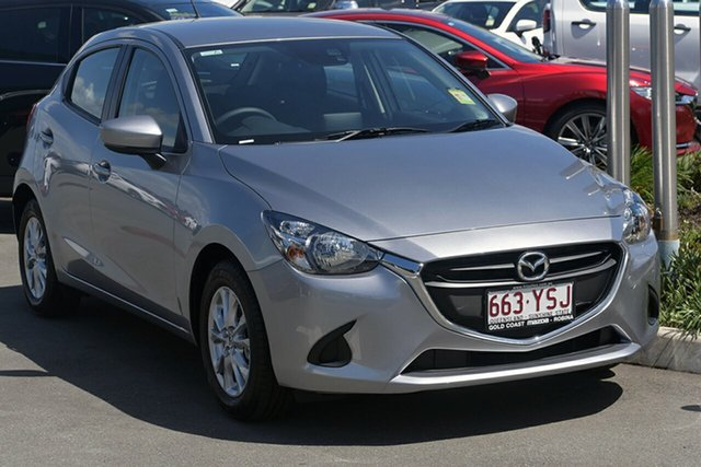 Demonstrator, Demo, Near New Mazda 2, Southport, 2019 Mazda 2 Hatchback