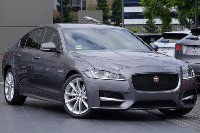 Demonstrator, Demo, Near New Jaguar XF 20d R-Sport, Newstead, 2016 Jaguar XF 20d R-Sport Sedan