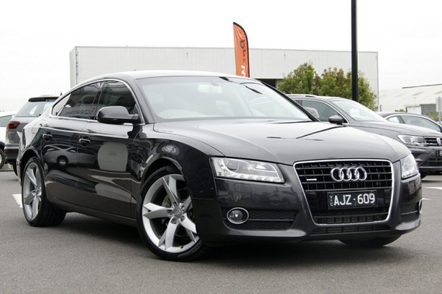 Used Audi A5 Sportback S Tronic Quattro, Clayton, 2011 Audi A5 Sportback S Tronic Quattro Hatchback