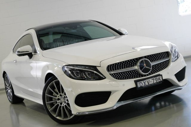 Used Mercedes-Benz C250 d 9G-Tronic, Southport, 2016 Mercedes-Benz C250 d 9G-Tronic Coupe