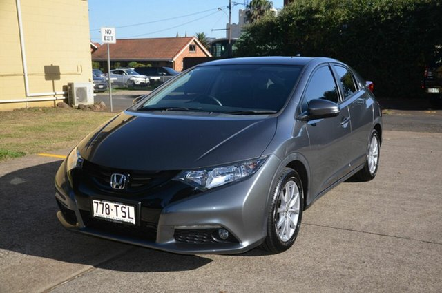 Used Honda Civic VTi-S, Toowoomba, 2014 Honda Civic VTi-S Hatchback