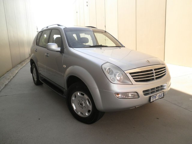 Used Ssangyong Rexton Sports Plus, Cheltenham, 2005 Ssangyong Rexton Sports Plus Wagon