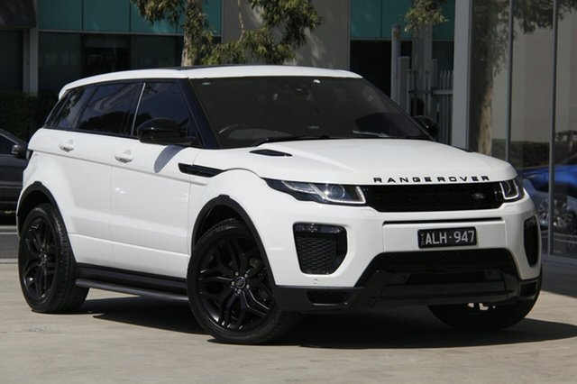 Used Land Rover Range Rover Evoque TD4 180 HSE Dynamic, Port Melbourne, 2016 Land Rover Range Rover Evoque TD4 180 HSE Dynamic Wagon