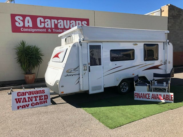 Used Jayco STERLING 18' with AIR CONDITIONING, Klemzig, 2007 Jayco STERLING 18' with AIR CONDITIONING Pop Top