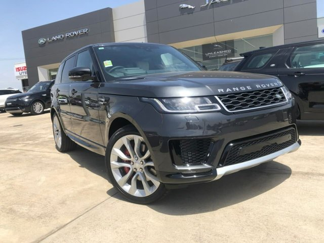 Demonstrator, Demo, Near New Land Rover Range Rover Sport SDV8 CommandShift HSE, Lavington, 2018 Land Rover Range Rover Sport SDV8 CommandShift HSE Wagon