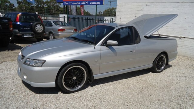 Used Holden Ute Storm S, Seaford, 2005 Holden Ute Storm S Utility