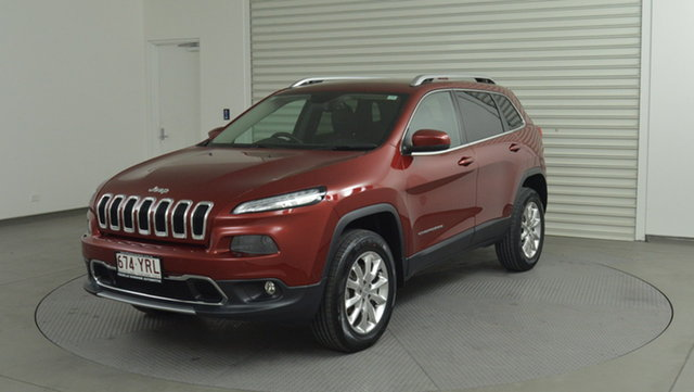 Used Jeep Cherokee Limited, Narellan, 2015 Jeep Cherokee Limited Wagon