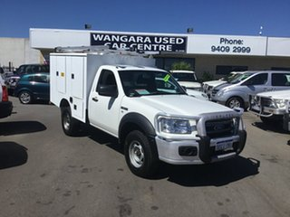 2007 Ford Ranger XL (4x4) Cab Chassis.