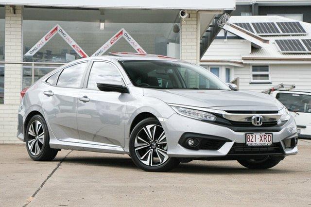 Used Honda Civic VTi-LX, Indooroopilly, 2017 Honda Civic VTi-LX Sedan