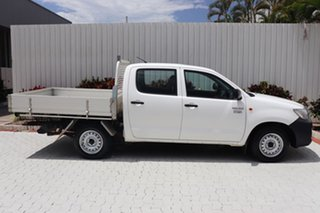 2015 Toyota Hilux Workmate Double Cab 4x2 Utility.