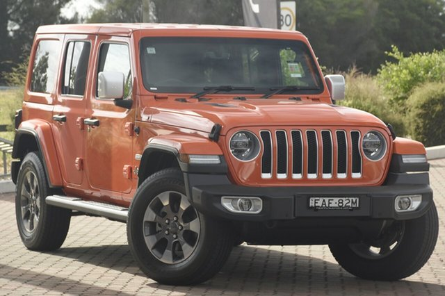 Discounted Demonstrator, Demo, Near New Jeep Wrangler Unlimited Overland, Narellan, 2018 Jeep Wrangler Unlimited Overland SUV