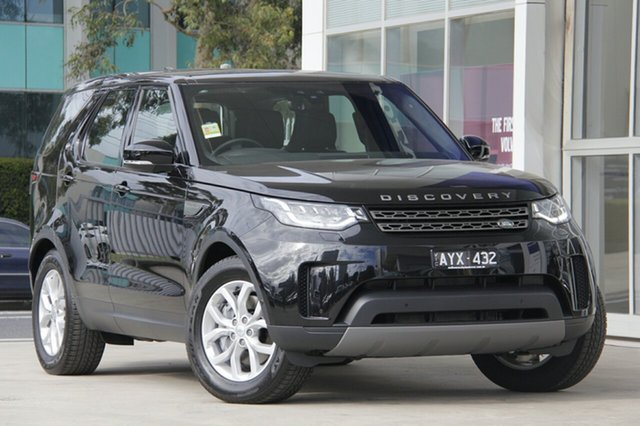 Demonstrator, Demo, Near New Land Rover Discovery, Port Melbourne, 2018 Land Rover Discovery Wagon