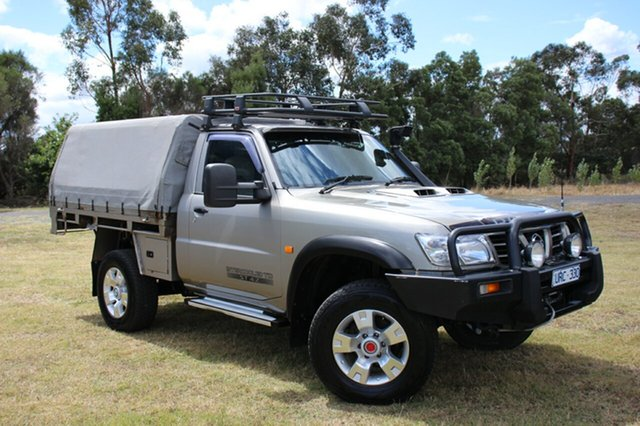 Used Nissan Patrol ST, Officer, 2006 Nissan Patrol ST Cab Chassis