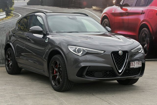 Demonstrator, Demo, Near New Alfa Romeo Stelvio Quadrifoglio AWD, Southport, 2018 Alfa Romeo Stelvio Quadrifoglio AWD Wagon