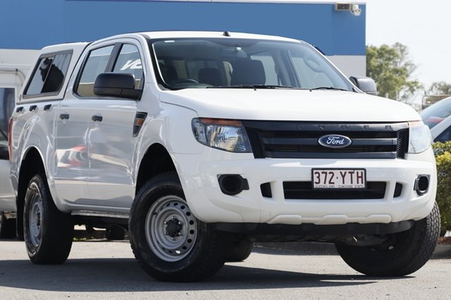 Used Ford Ranger XL Double Cab 4x2 Hi-Rider, Beaudesert, 2012 Ford Ranger XL Double Cab 4x2 Hi-Rider Utility