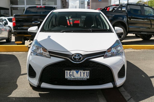 Used Toyota Yaris Ascent, Oakleigh, 2015 Toyota Yaris Ascent NCP130R MY15 Hatchback