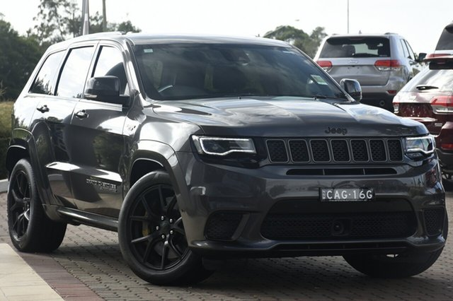 Discounted Demonstrator, Demo, Near New Jeep Grand Cherokee Trackhawk, Narellan, 2018 Jeep Grand Cherokee Trackhawk SUV