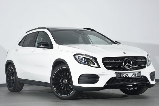 Demonstrator, Demo, Near New Mercedes-Benz GLA 250 4MATIC DCT 4MATIC, Southport, 2018 Mercedes-Benz GLA 250 4MATIC DCT 4MATIC SUV
